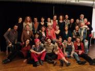 Rhiannon's Vocal River Improvisation Workshop, Amsterdam (Nov 2016)